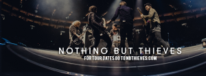 """Nothing But Thieves tops charts with """"Trip Switch"""" (Courtesy of https://www.facebook.com/NothingButThieves/)."""