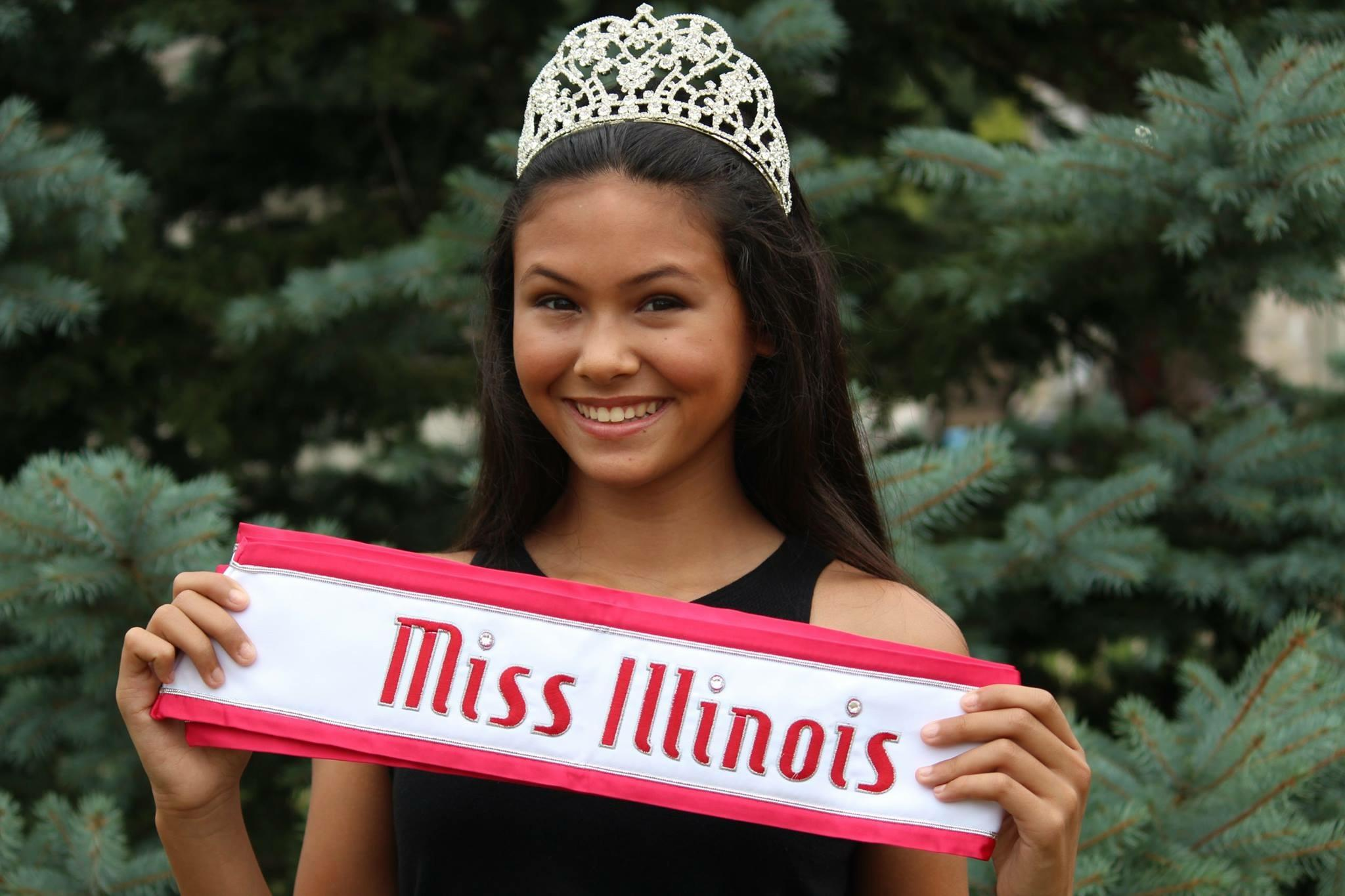Castro with her sash and crown (Courtesy of T. Castro).