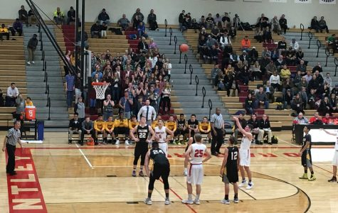 Boys basketball falls short against rival Jacobs