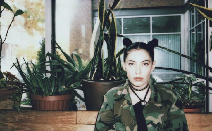 Bishop Briggs poses for a picture (Courtesy of Facebook).