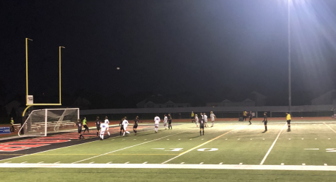 Huntley High School's boys soccer team beats Burlington Central