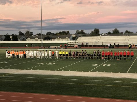 Boys soccer falls short in aggressive game against Central