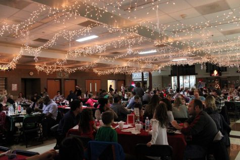 Santa's Fireside Feast goes off without a hitch at Marlowe Middle School