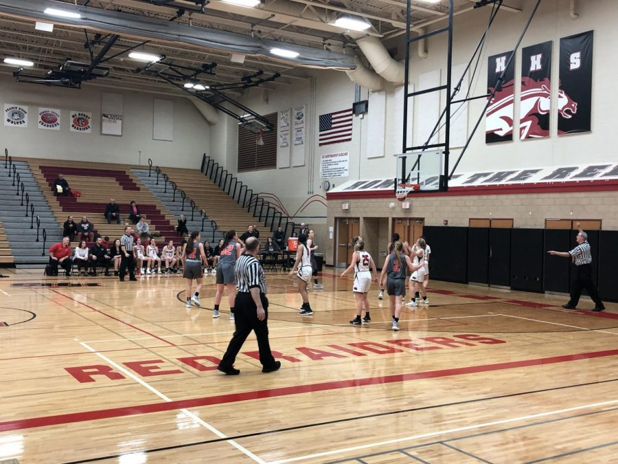 Huntley girls basketball beats the McHenry Warriors 46-37