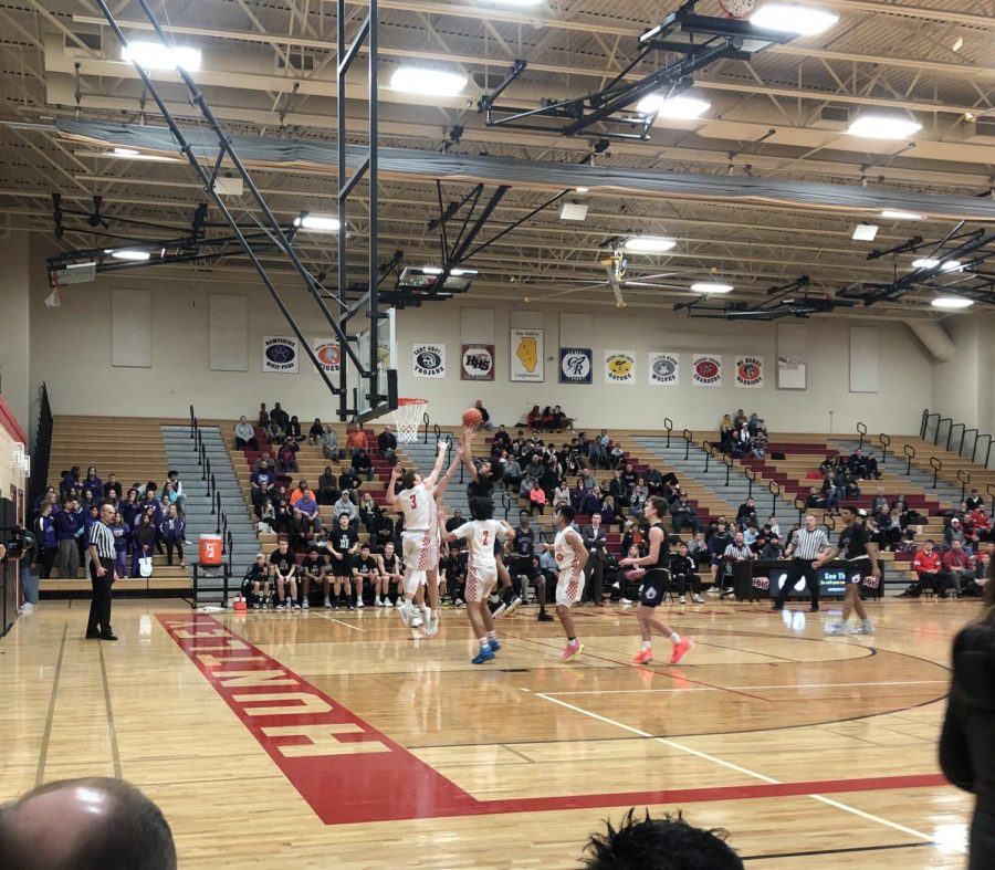 Huntley boys basketball crushes Hampshire granting more success