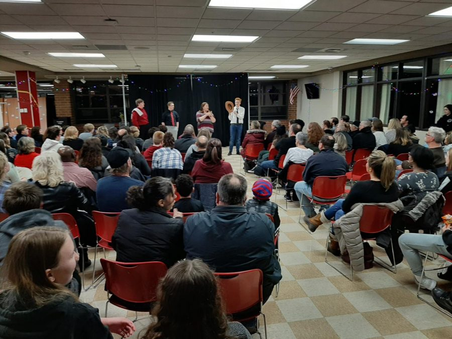 Huntley High hosts its annual performance of the One Act Play Festival