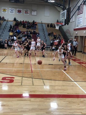 2/25 – Huntley girls basketball comes up short in sectional semi-final
