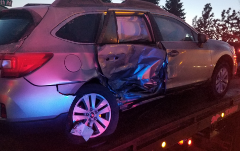 … to be in a car accident