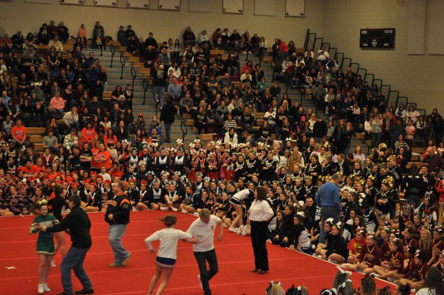 Huntley cheerleading squad hosts Sweetheart Challenge