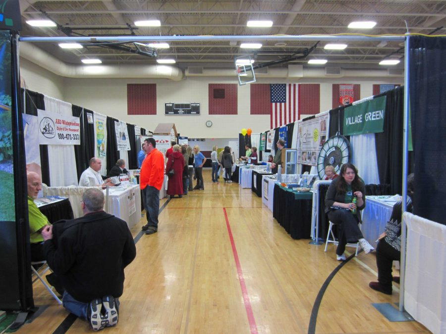 The Huntley Chamber Home and Business Expo was held this past weekend at Marlowe Middle School (Y. Dominguez).