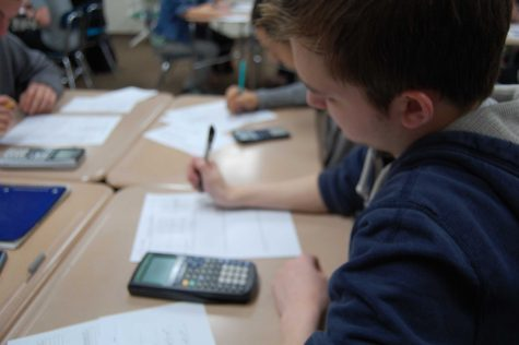 Juniors prepare for the upcoming ACT and PSAE tests