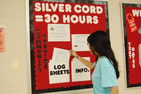 Senior Silver Cord hours tabulated