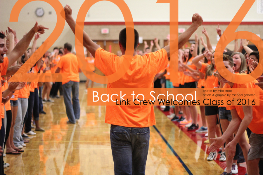 [Gallery] Link Crew welcomes the Class of 2016