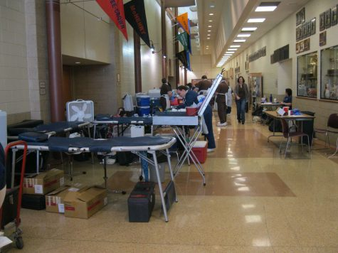 Student Council hosts blood drive and plans future events