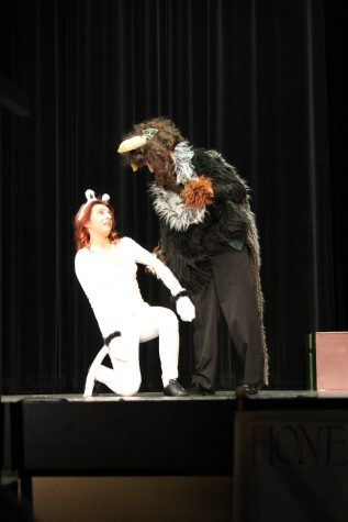 """Backstage with the thespians in """"Aesop's Fables"""""""