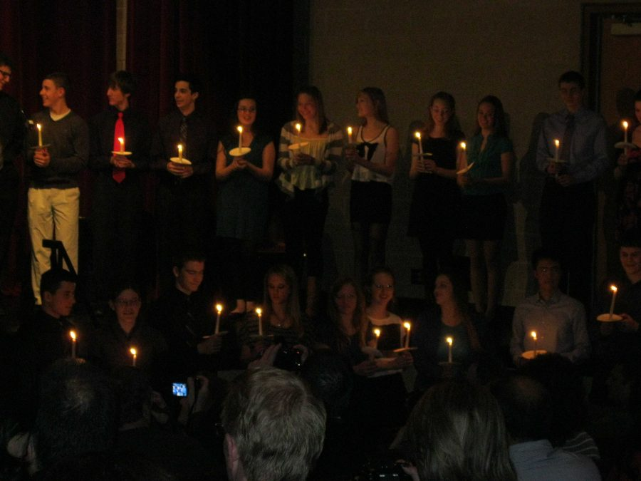 NHS hosts induction ceremony