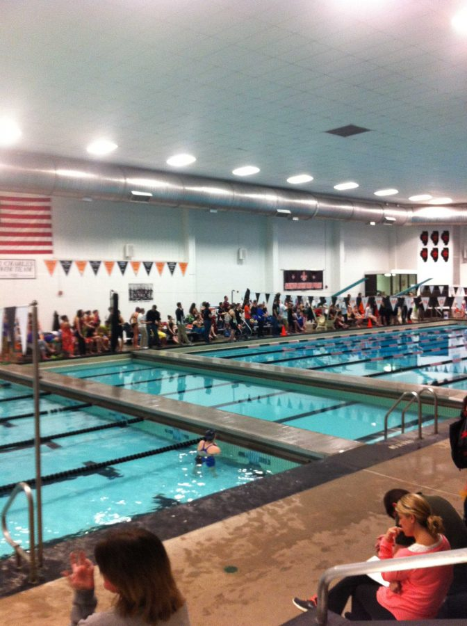 Huntley places eighth in swimming sectional
