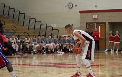 Boys basketball fall to Jacobs on Senior Night