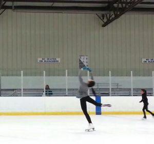 Skating Through Ice