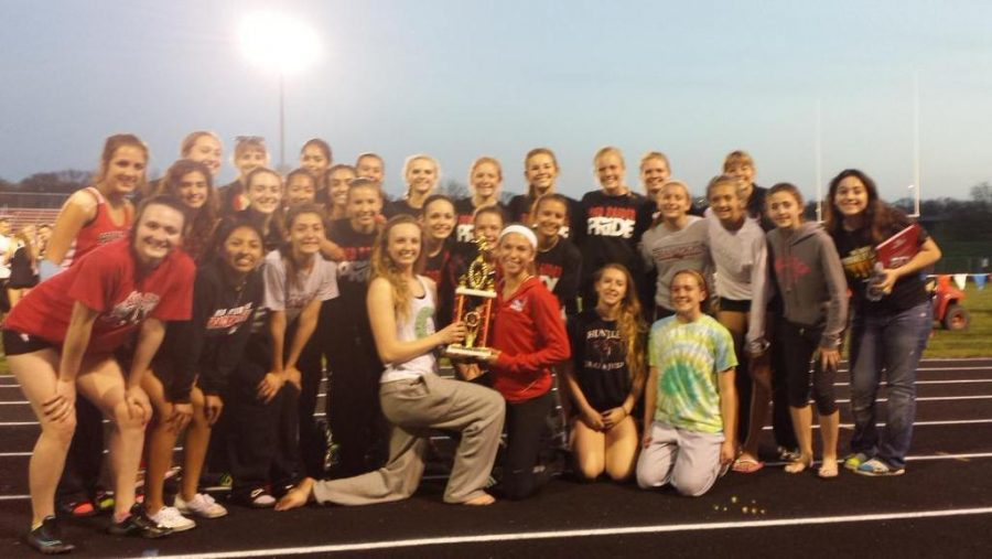 Girls+track+takes+first+place+at+the+Ottawa+Fricke+Invitational