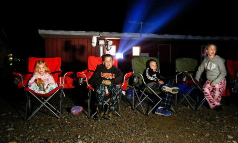 Student council hosts annual drive-in theater