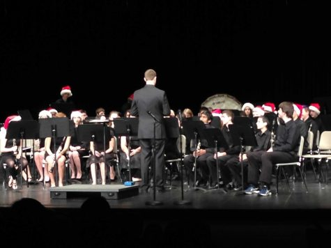Huntley bands present the annual Winter Band Concert