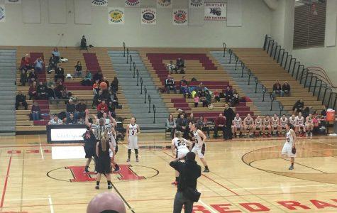 Girls basketball triumphs on Senior Night