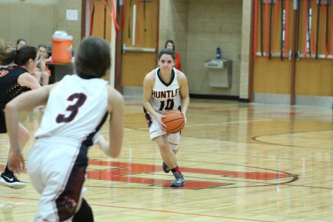 Girls Basketball Senior Night 2016