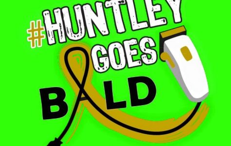 Huntley shaves off Pediatric Cancer in Saint Baldrick's