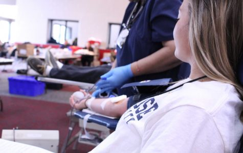 HHS experiences busiest blood drive ever