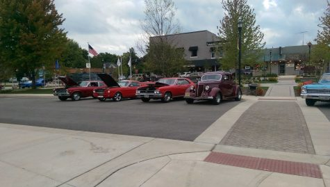 Huntley Vintage Cruise Night ends with a bang!