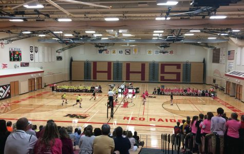 Huntley volleyball wins match against Crystal Lake South in three games
