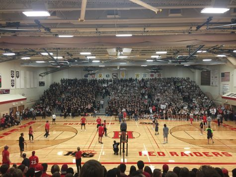 Kicking the weekend off with the Pep Rally