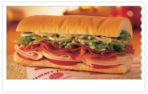 The number five Vito sandwich from Jimmy John's (Courtesy of jimmyjohns.com)