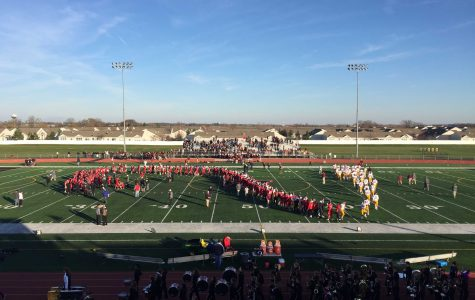 Huntley football loses in the quarterfinals to #1 ranked Loyola Academy