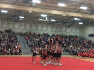 Huntley hosts annual Sweetheart Challenge Competition