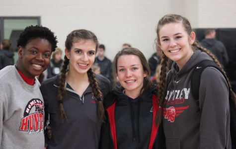Girls track and field hosts their first meet of the season with the 'HHS Indoor Invite'