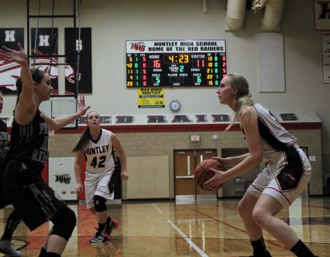 Huntley Girls Basketball v. Prairie Ridge 2017