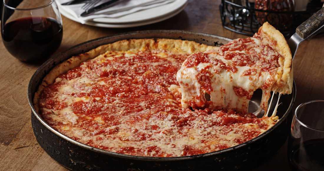 Lou Malnati's deep dish cheese pizza (Courtesy of loumalnatis.com).
