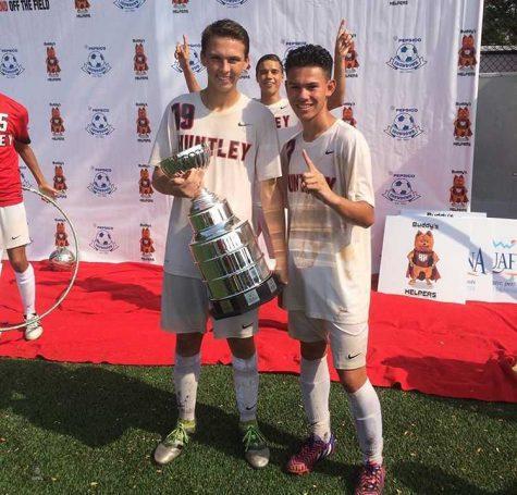Injuries lead to successes for senior boys soccer starter, Raemon Savillo