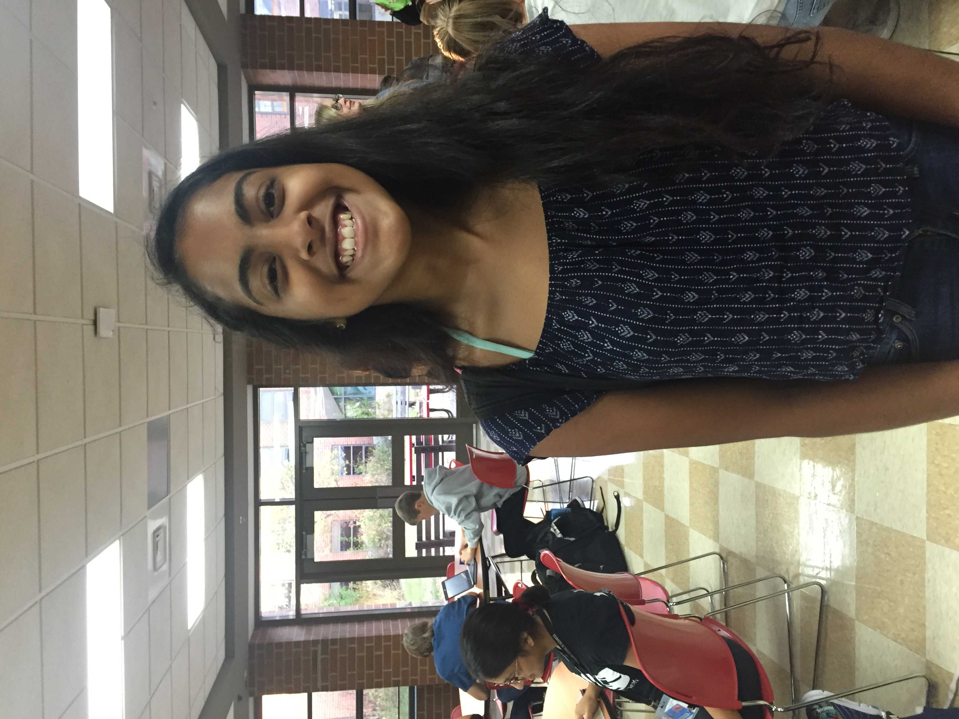 This is a quick Q/A with Junior Tara Pavithran.