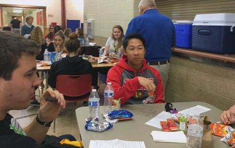 HHS's first blood drive of the school year