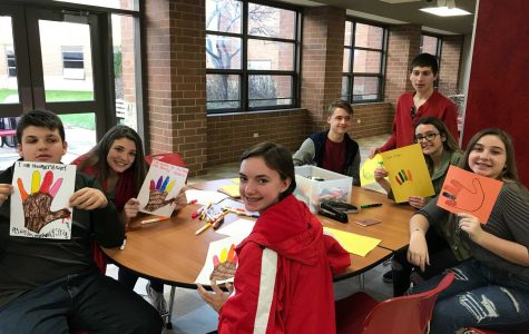Buddies Club celebrates with Thanksgiving themed social