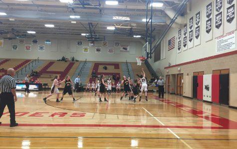 Huntley girls basketball falls short to the Golden Eagles