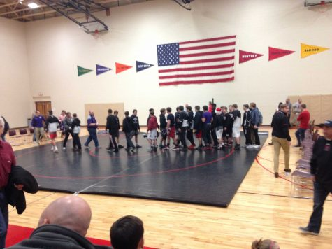 Huntley Wrestling Handles Hampshire