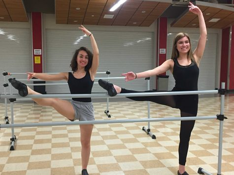 Senior Alaina Moran dances through her last year in Orchesis