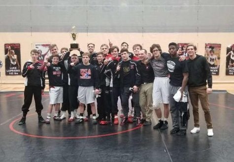 HHS Wresting defeats Crystal Lake Central to become Fox Valley Conference Champions