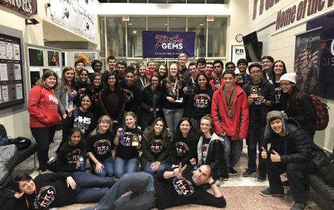 Math Team places second at Fox Valley Conference