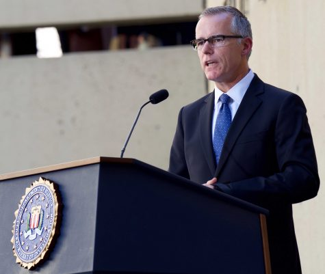 Former FBI Deputy Director Andrew McCabe fired