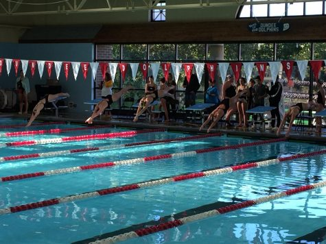 The Eternal Rivalry: Jacobs Versus Huntley in Girls Swim Meet